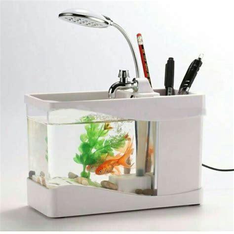 Pompa Aquarium Mini Murah aquarium unik bentuk mini tinggal colok usb harga jual