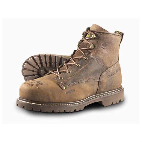 s carolina work boots s carolina 174 6 quot aluminum toe work boots 283160 work