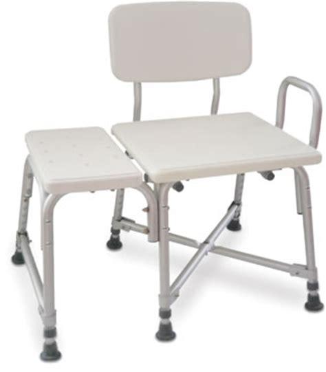 aquasense transfer bench aquasense bariatric transfer bench with armrest 770 422