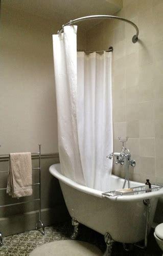 tringle pour baignoire tringle rideau de circulaire et baignoire pieds