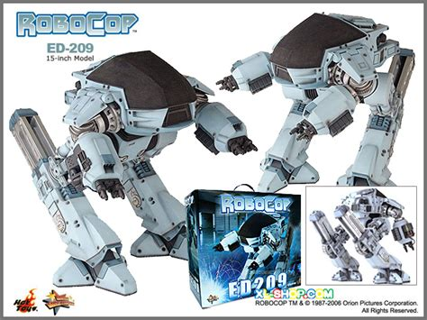 Toys Ht Robocop Ed209 Misb New Last Stock Toys Ed 209 Ed209 Mms12 Robocop Sideshow Original