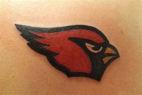 arizona cardinals tattoos nfl arizona cardinals fans tattoos football tattoos