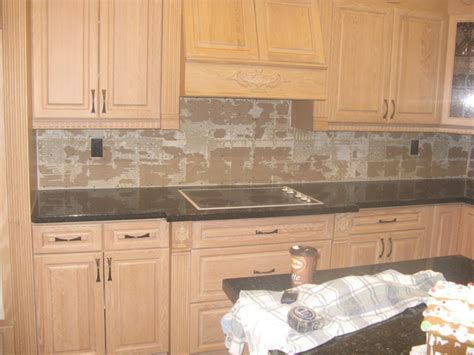 facade tile backsplash naturals veneer backsplashes contemporary