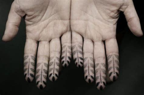 black pattern finger tattoo 23 wonderful geometric tattoos designs on fingers