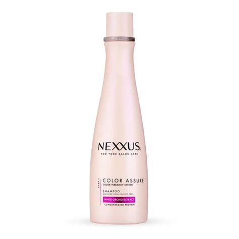Five Conditioners For Coloured Hair by Nexxus Color Assure Shoo Nexxus Ny Salon Care