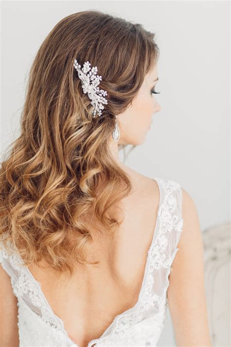 wedding hairstyles for medium length hair thats covers ears sunday inspirations 30 headpieces that will keep you on
