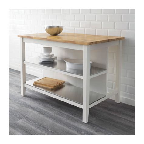 Kitchen Island Ikea Stenstorp Stenstorp Kitchen Island White Oak 126x79 Cm Ikea