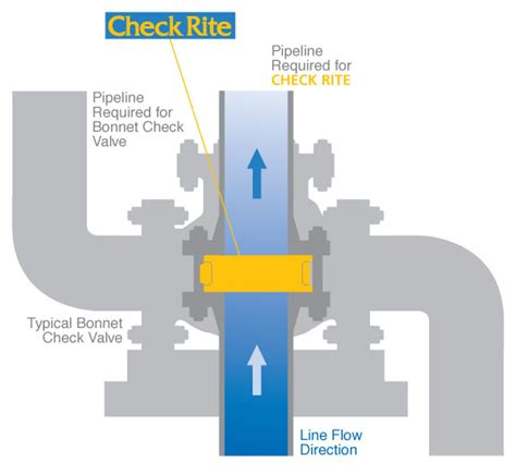 Bray Rite Swing Check Valves Wafer Combination