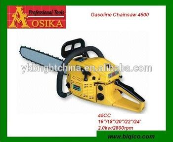 45 Cc Chinese Petrol Chainsaw On Sale With High Quality