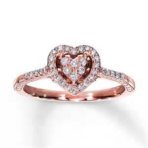 promise rings promise ring 1 4 ct tw cut 10k gold