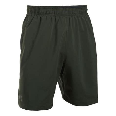 Original Armour Hiit Woven Combat Green woven lightweight shorts road runner sports
