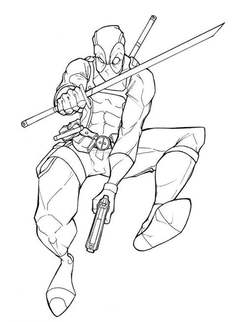 deadpool coloring pages pdf deadpool desenhos para colorir imprimir e pintar