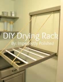 hometalk diy drying rack tutorial