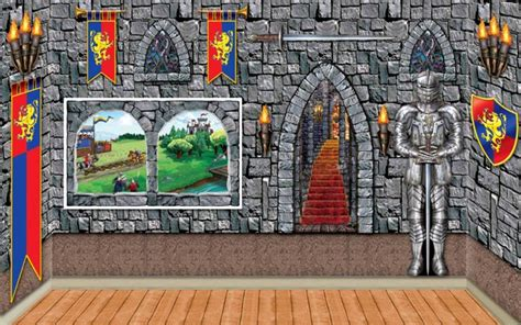 setter castle backdrops props partycheap - Castle Themed Decorations