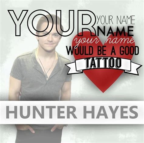 tattoo lyrics hunter hayes lyrics