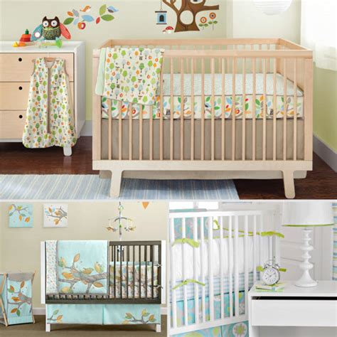 Nursery Bedding Sets Unisex Unisex Crib Bedding Popsugar