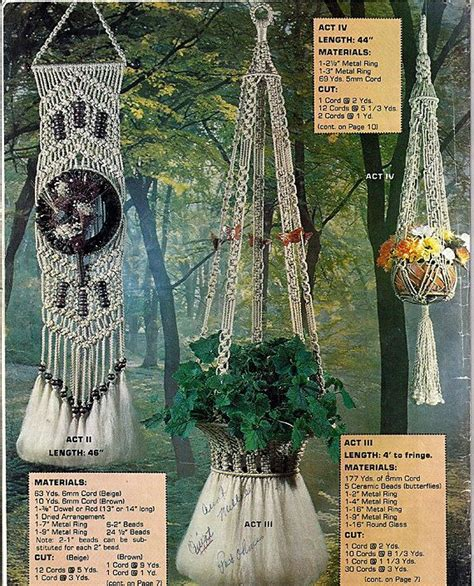Best Macrame Book - 17 best images about macrame plant hangers on