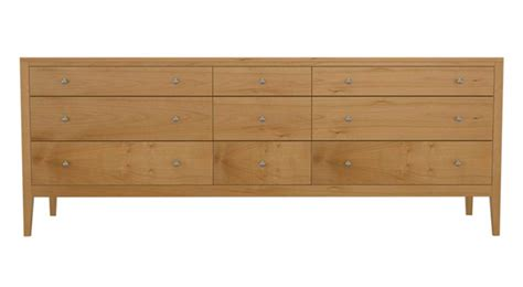 9 Drawer Dresser by Circle Furniture Franklin Nine Drawer Dresser Hardwood