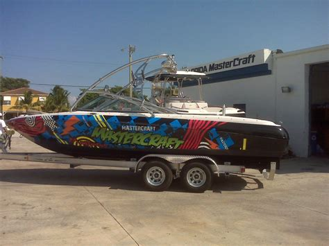 mastercraft boats design boat wraps graphic systems installers