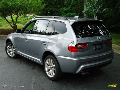 2006 bmw x3 3 0i titanium silver metallic 2006 bmw x3 3 0i exterior photo