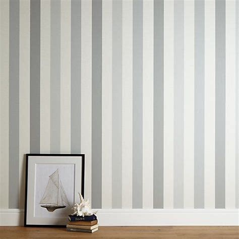 The Bedroom In by Padstow Stripe Wallpaper Wallpaper Striped