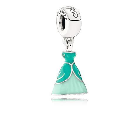 Disney Ariel Silver Dangle With Glittery Green Enamel P 1156 disney ariel dress silver dangle with green enamel