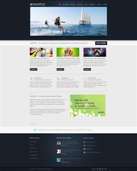 wordpress tutorial themeforest 20 superb themeforest wordpress themes tutorialchip