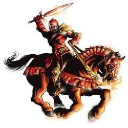 The horsemen of revelation the red horse of war good news magazine