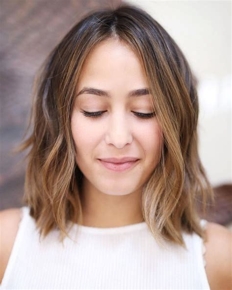 middle part bob hairstyle best 25 middle part bob ideas on pinterest middle part