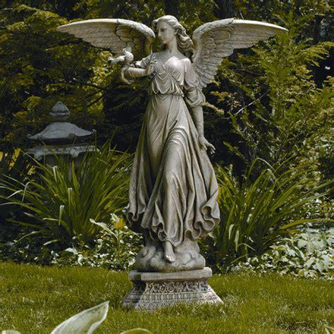 outdoor angel statues inc classic garden statue reviews wayfair