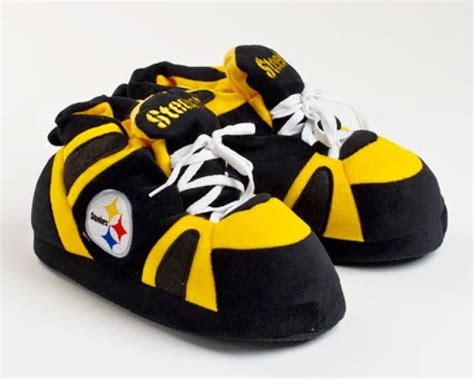 Pittsburgh Steelers Slippers Sports Team Slippers Novelty Slippers