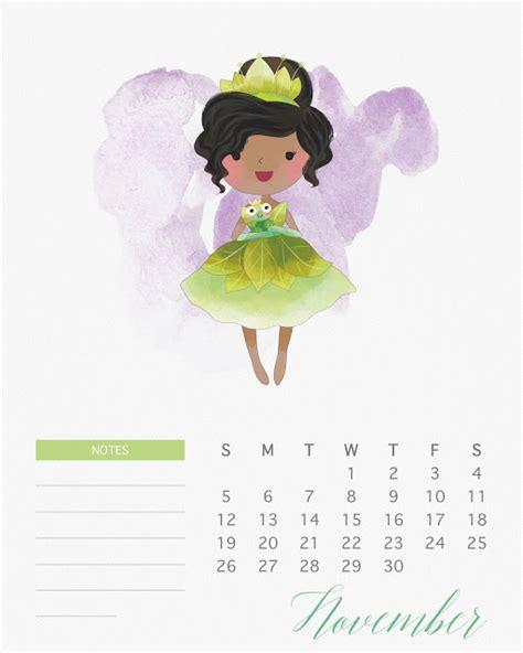 Calendã Novembro 2017 Imprimir Calendario 2017 De Las Princesas Disney Para Imprimir