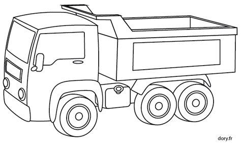 Dessin Gratuit Un Camion Benne Dory Fr Coloriages