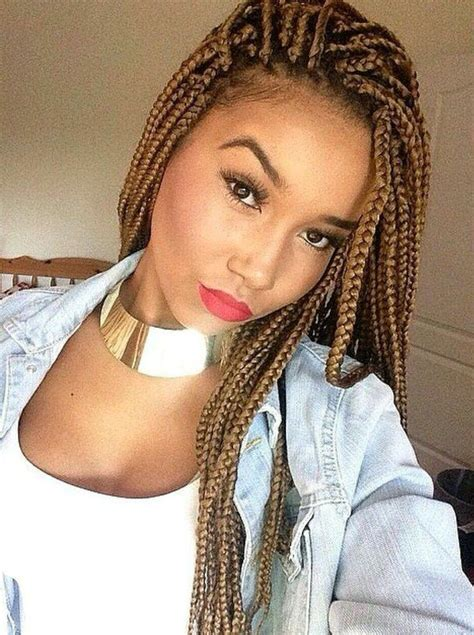hair colors suited to match light skin african american 25 best ideas about colored box braids on pinterest box