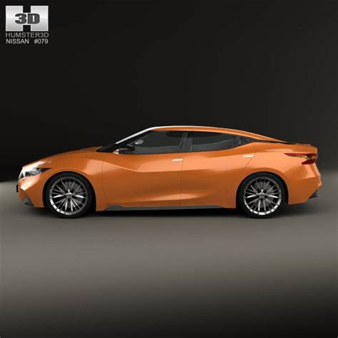nissan sports car models nissan sport sedan 2013 3d model humster3d
