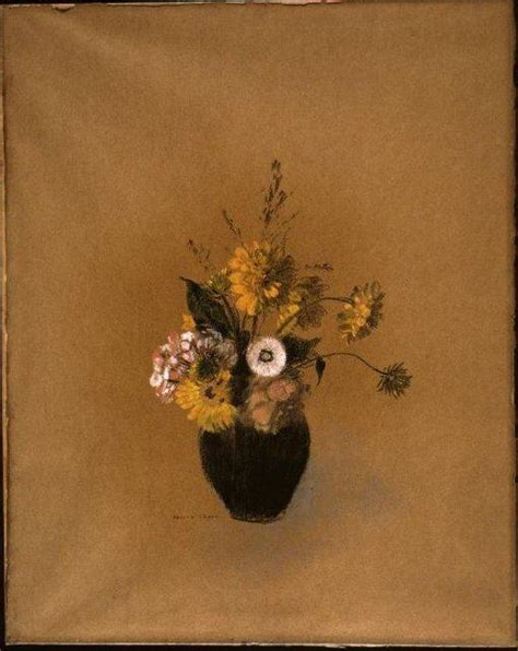 Vase Photos Vase With Flowers By Odilon Redon Artinthepicture Com
