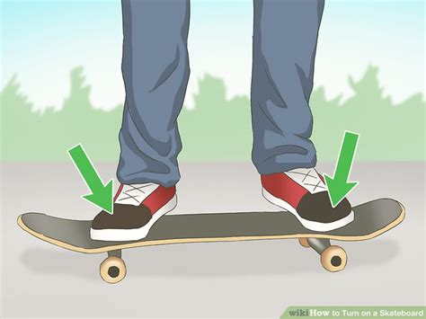 how to get comfortable on a skateboard how to turn on a skateboard 10 steps with pictures