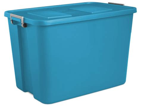 Recycle Office Furniture by 121 Litre Latch Tote Box St1744