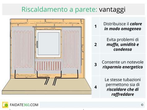 costo installazione riscaldamento a pavimento riscaldamento a parete radiante pro e contro