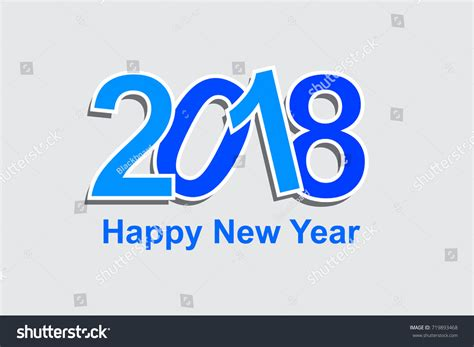 templates brochure happy new year happy new year 2018 vector background stock vector