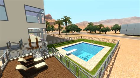 dog house with pool forums community the sims 3