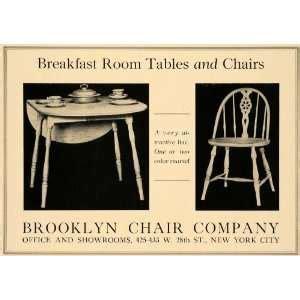 Vintage Enamel Top Table 4 Chairs Porcelain 1940 50s