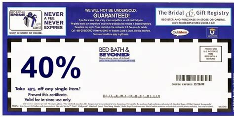 bed bath beyond cupon bed bath and beyond sales events printable coupons online
