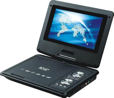 Dvd Tv Portable 7 7 inch portable dvd player with dvd tv fm usb ce rohs with 3d function pd718d malanzs