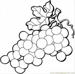 grapes coloring page coloring pages grape 4 food fruits gt grapes free