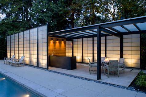 17 Harmonious Pool Pavilion Plans   Building Plans Online