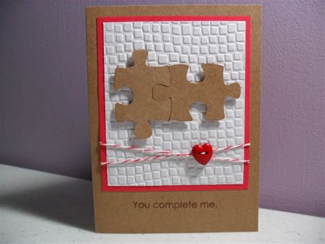 Handmade Anniversary Cards For Parents - s day card anniversary card puzzle
