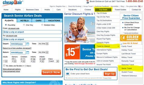 the cheapest airlines cheapest senior airfare