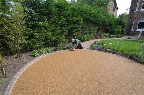 resin bonded patio 25 best ideas about resin bound gravel on