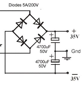 bridge rectifier smoothing capacitor value diode in circuit clinic 3 electronics hobby